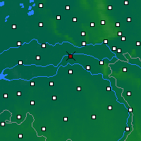 Nearby Forecast Locations - Beneden-Leeuwen - Mapa