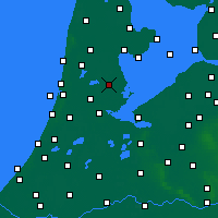 Nearby Forecast Locations - Purmerend - Mapa
