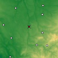 Nearby Forecast Locations - L'Isle-Jourdain - Mapa