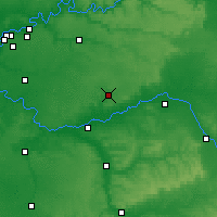 Nearby Forecast Locations - Provins - Mapa