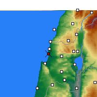 Nearby Forecast Locations - Acre - Mapa