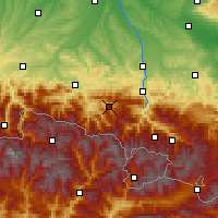 Nearby Forecast Locations - Massat - Mapa