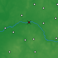 Nearby Forecast Locations - Zawisty Podleśne - Mapa