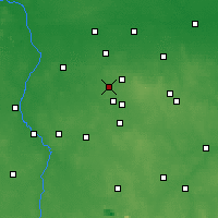Nearby Forecast Locations - Aleksandrów Łódzki - Mapa