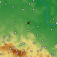 Nearby Forecast Locations - Chojnów - Mapa