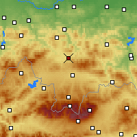 Nearby Forecast Locations - Rabka-Zdrój - Mapa