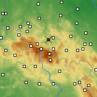 Nearby Forecast Locations - Podgórzyn - Mapa