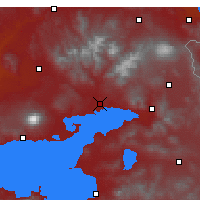 Nearby Forecast Locations - Erciş - Mapa