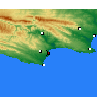 Nearby Forecast Locations - Bahía de Jeffreys - Mapa
