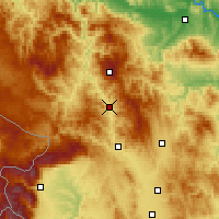 Nearby Forecast Locations - Leposavić - Mapa