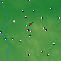 Nearby Forecast Locations - Zgierz - Mapa