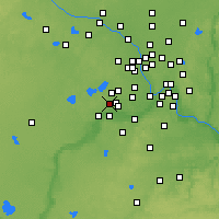 Nearby Forecast Locations - Chanhassen - Mapa