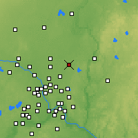 Nearby Forecast Locations - Forest Lake - Mapa