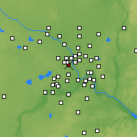 Nearby Forecast Locations - Robbinsdale - Mapa