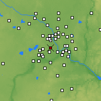 Nearby Forecast Locations - St. Louis Park - Mapa