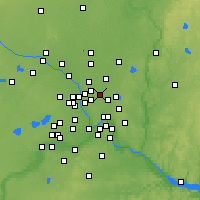 Nearby Forecast Locations - Shoreview - Mapa