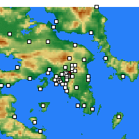Nearby Forecast Locations - Marusi - Mapa