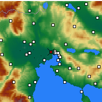 Nearby Forecast Locations - Stavroupoli - Mapa