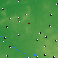 Nearby Forecast Locations - Kępno - Mapa