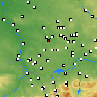 Nearby Forecast Locations - Ruda Śląska - Mapa