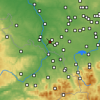 Nearby Forecast Locations - Rydułtowy - Mapa