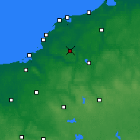 Nearby Forecast Locations - Sławno - Mapa