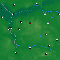 Nearby Forecast Locations - Sulęcin - Mapa