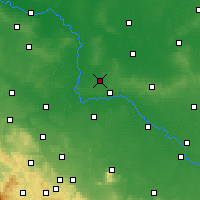 Nearby Forecast Locations - Wołów - Mapa