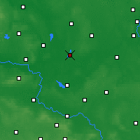 Nearby Forecast Locations - Wolsztyn - Mapa