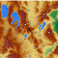 Nearby Forecast Locations - Verno - Vitsi - Mapa