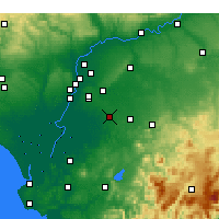 Nearby Forecast Locations - Utrera - Mapa