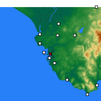 Nearby Forecast Locations - Puerto Real - Mapa