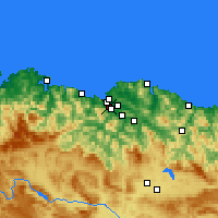 Nearby Forecast Locations - Sestao - Mapa