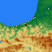 Nearby Forecast Locations - Irún - Mapa