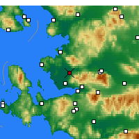 Nearby Forecast Locations - Menemen - Mapa