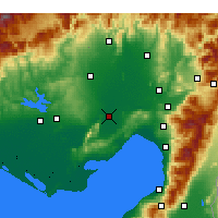 Nearby Forecast Locations - Ceyhan - Mapa