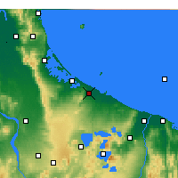 Nearby Forecast Locations - Te Puke - Mapa
