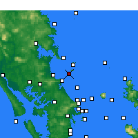 Nearby Forecast Locations - Sail Rock - Mapa