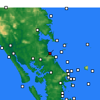 Nearby Forecast Locations - Waipu Cove - Mapa