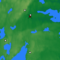 Nearby Forecast Locations - Örebro - Mapa