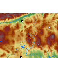 Nearby Forecast Locations - Esquipulas - Mapa