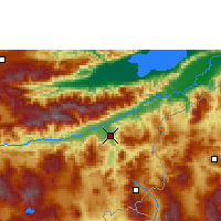 Nearby Forecast Locations - Zacapa - Mapa