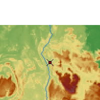 Nearby Forecast Locations - Canaima aeropuerto - Mapa