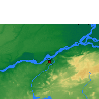 Nearby Forecast Locations - Ciudad Guayana - Mapa