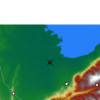 Nearby Forecast Locations - Santa Bárbara del Zulia - Mapa