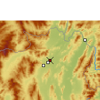 Nearby Forecast Locations - Rim Kok - Mapa