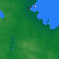 Nearby Forecast Locations - Belomorsk - Mapa