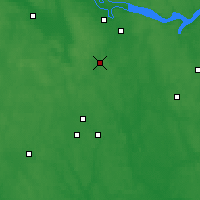 Nearby Forecast Locations - Fúrmanov - Mapa