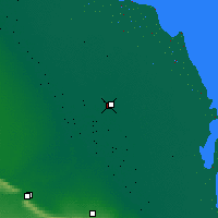 Nearby Forecast Locations - Kizlyar - Mapa