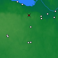 Nearby Forecast Locations - Krasnoye Selo - Mapa